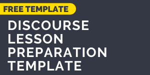 Download the discourse preparation template