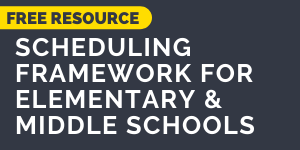 Download the Scheduling Framework for Elementary and Middle Schools