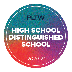 2020-21 Project Lead The Way Distinguished High School